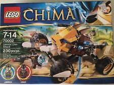 LEGO Legends of Chima Lennox' Lion Attack set (70002) 2 Minifigures 230 Pcs 7+
