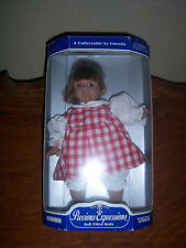 Vtg Adorable Uneeda Precious Expressions Girl Doll Soft Filled Body Collector