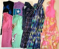 LOT Girls Size 7 7/8 8 Spring Summer Clothes Shirts Dresses