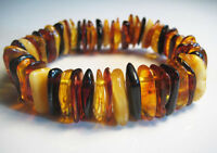 Genuine Baltic Amber Bracelet 26.4 g.  !!!