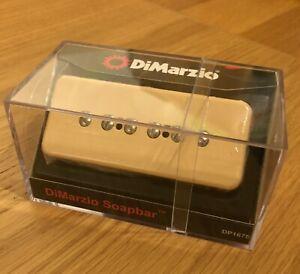 DiMarzio Soapbar Pickups in Black or Cream DP167 (P90/Soapbar)