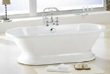 M782 PEDESTAL FREE STANDING BATHTUB & FAUCET AND DRAIN SET