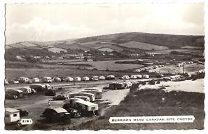 AK, Croyde, Devon, Burrows Mead Caravan Site, 1956