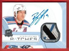 2011-12	UD THE CUP SIGNATURES PATCHES 3 CLR 32/75 BRAD RICHARDS	NEW YORK RANGERS