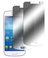2 x Samsung Galaxy S4 Mini Spiegelfolie Displayschutz Folie Mirror Screen