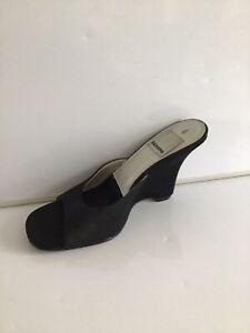 Saxone Women's Wedge Heel  Sandals Size UK6/EU40