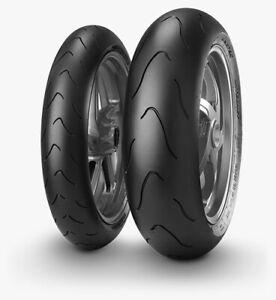 Coppia Gomme Moto Metzeler 120/70 ZR17 58W + 180/55 ZR17 73W RACETEC INTERACT K3