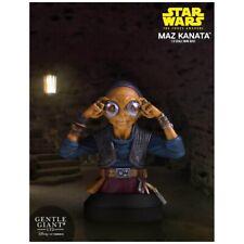 Gentle Giant Star Wars Force Awakens Maz Kanata 1/6 Mini Bust New Free Delivery!
