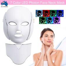 New 7 Color LED Light Photon Face Neck Mask Rejuvenation Facial Wrinkle Therapy