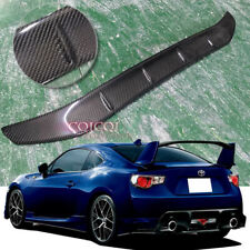 Carbon Fiber roof spoiler for 12~19 Toyota GT86 Scion FRS Subaru BRZ ◎