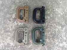 10pcs Tactical Edc Carabiner Itw Safety Buckle Molle Keyring D-Ring Spring Snap