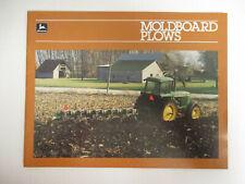 John Deere Moldboard Plow For 1988 Dealers Brochure AMIL15