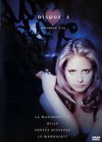Buffy contra vampiros temporada 1 disco 3 episodios 9 à 12 DVD NUEVO