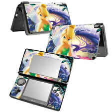 Vinyl Decal Skin Sticker for Nintendo 3DS Console Tinkerbell Fairy Pixie 1