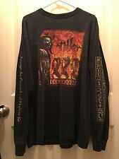 NILE vintage pre-owned longsleeve t-shirt dying fetus suffocation pestilence xl