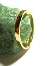 Anillos de joyería de metales preciosos sin piedras compromiso oro