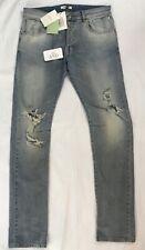Men Pierre Balmain Distressed Denim Jeans 34 NWT