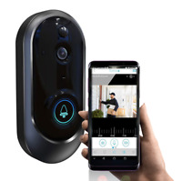 Wireless 1080p Smart WiFi Video Doorbell Camera Intercom Security Bell