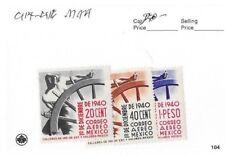 Mexico 1934-1944Scott 707/791 Mint Group.