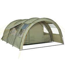 XXL Familienzelt 4 Personen Zelt | Großes Campingzelt | 5000 mm Tunnelzelt oliv