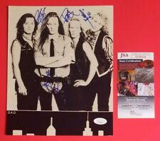 """DISNEYLAND AFTER DARK - D.A.D. COMPLETE BAND X4 SIGNED 8""""X10"""" PHOTO WITH JSA COA"""