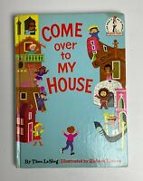 COME OVER TO MY HOUSE Theo LeSieg Vintage 1966 Dr. Seuss 1966