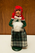 Byers Choice Ltd. Byers Carolers Figure Woman with Muff 1990