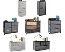 Drawer Dresser Storage Organizer Unit Side Table Dresser Cabinet Closet Shelves