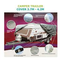 Camper Trailer Cover 3.7-4.2M 12-14ft for Jayco Dove Eagle Hawk  2.2*1.35m