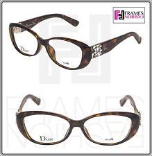 c5587507ca Christian Dior mercural CD3273F Habana Floral 53mm Oval Rx gafas Ópticos
