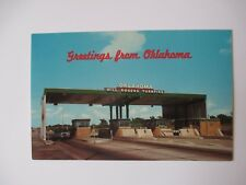 Greetings from Oklahoma Will Rogers Turnpike Toll Road Unused Postcard