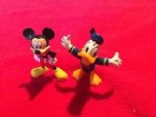 Disney figurines, Mickey and friends, 2 figurines Donald & Mickey