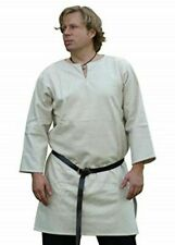 Medieval Reenactment Tunic White Color Costume Nice Dress