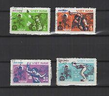 9eme Jeux asiatique à Delhi 1982 Viêt Nam une série de 4 timbres / T1685
