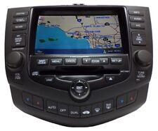 05 HONDA Accord Hybrid Navigation System GPS LCD Screen Radio 6 CD Player 2CK2