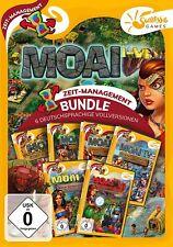 Moai 1-6 Sunrise Games PC Spiel Zeitmanagement Neu & OVP