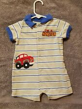 A boys one piece shorty size 3/6 months