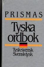 Wörterbuch schwedisch,Tyska Ordbok,117000 Wörter tysk svensk Prismas svenska