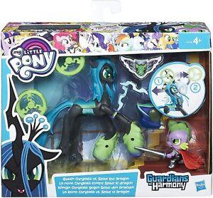 Hasbro My Little Pony Guardians of Harmony Queen Chrysalis vs Spike the Dragon