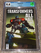 IDW Transformers 51 CGC 9.4 Comic Book Casey Coller Sub Cover