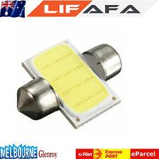 1Pc 31MM 12V White LED COB Festoon Dome Interior Bulb Car Reading Light Lamp
