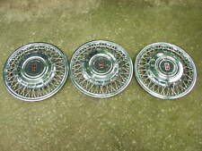 "1980 1981 Oldsmobile Delta 88 Royale 15"" wire wheel covers GM # 22509529 NOS!"