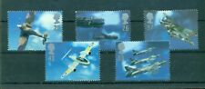 Great Britain - Sc# 1758-62. 1997 Aircraft Designs. MNH $6.05.