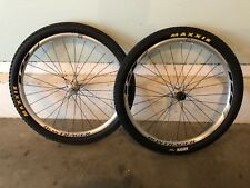 "Bontrager RL Pro 26"" Wheel Set, Center Lock Hubs, Maxxis Tires"