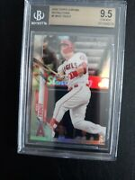 2020 TOPPS CHROME REFRACTOR MIKE TROUT CARD #1 BGS 9.5 LOS ANGELES ANGELS INVEST