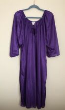 Cw Classics Women's Purple Semi Sheer Night Gown Size 4X New