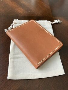 Hermann Oak Leather Bifold Wallet
