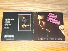 CHRIS SPEDDING - ENEMY WITHIN / REPERTOIRE DIGIPACK-CD 2018