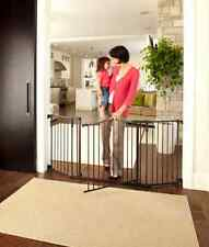 Extra Long Gate Large Decor Metal Swing Porch Baby Kid Safety Home Office Pet
