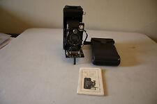 Vintage Kodak No. 1A Series III Folding Camera W/ Case and Manual